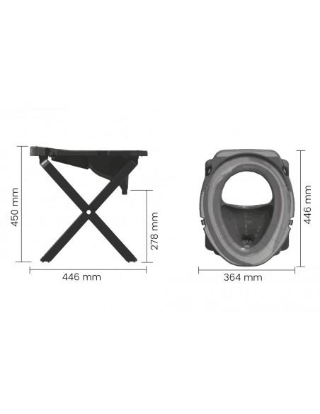 Separett Rescue Camping - WC pro turistiku a kempování