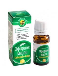 Esenciální olej z jehličí cedru sibiřského 10ml