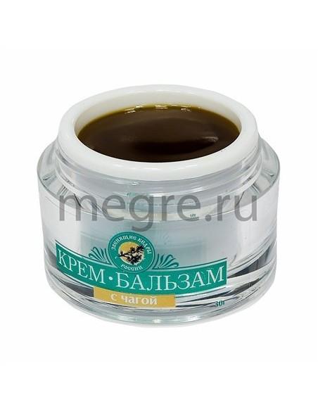 Krém-balzám masážní s čagou 30ml